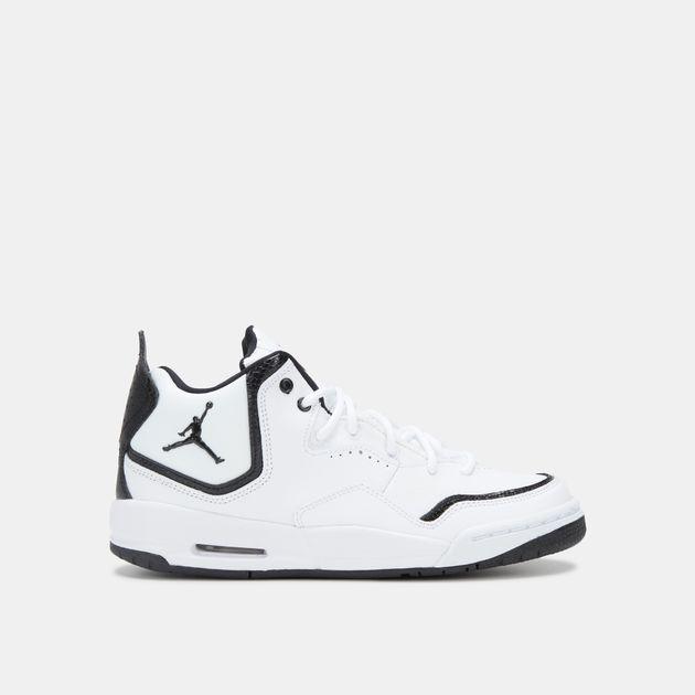 new style a90ce ab66c Shop White Jordan Kids' Courtside 23 Basketball Shoe ...