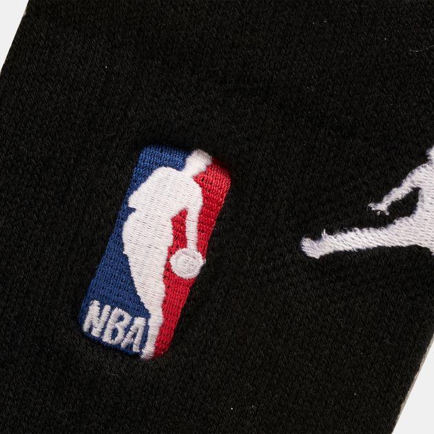 Shop Black Jordan NBA Crew Socks  77da863c35e
