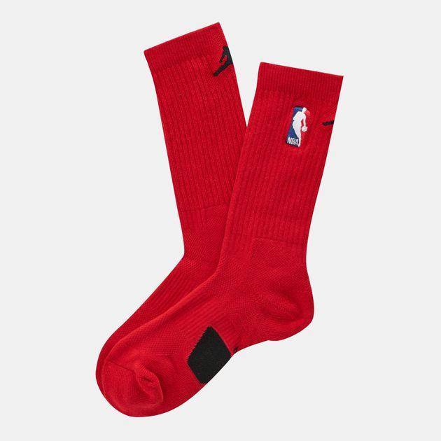 Shop Red Jordan NBA Crew Socks  43761318f94