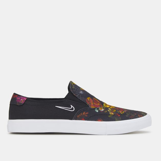 7dc19a7ac539 Nike SB Portmore II Solarsoft Slip-On Skateboarding Shoe