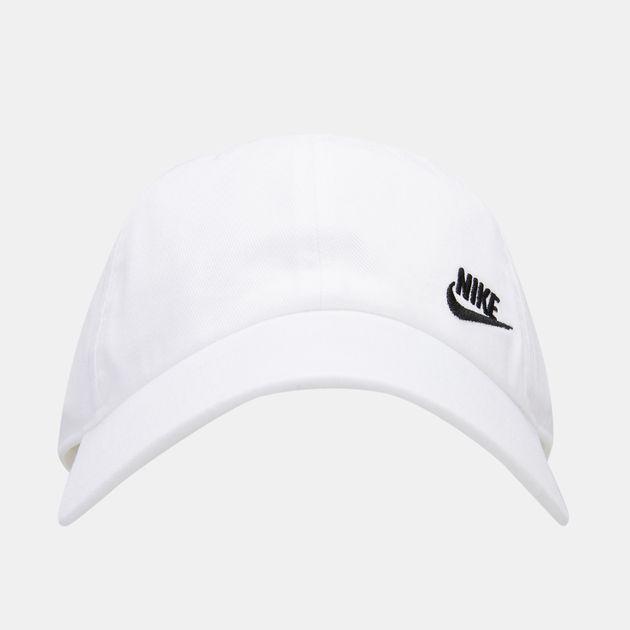 3551148fabd Nike Women s Sportswear Heritage 86 Futura Adjustable Cap - White