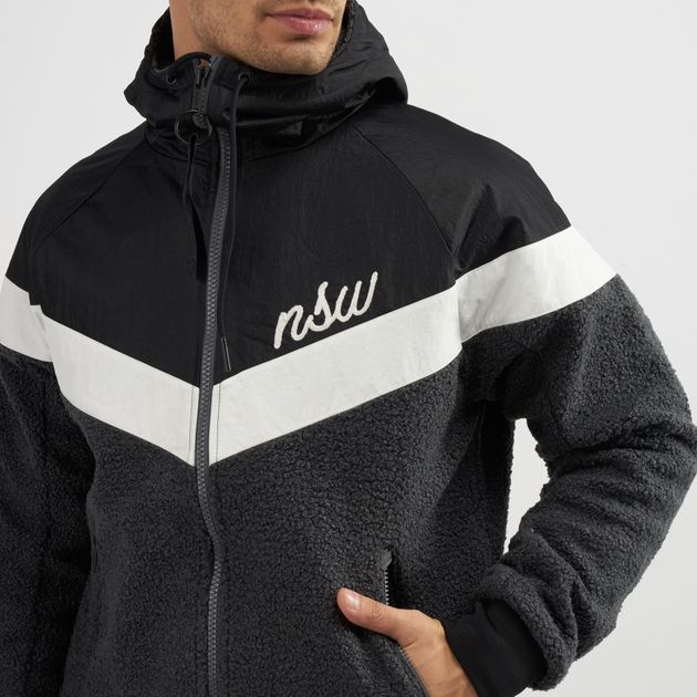 On Clearance Super discount enjoy best price Nike Sportswear Sherpa Windrunner Jacket | Track Jackets ...