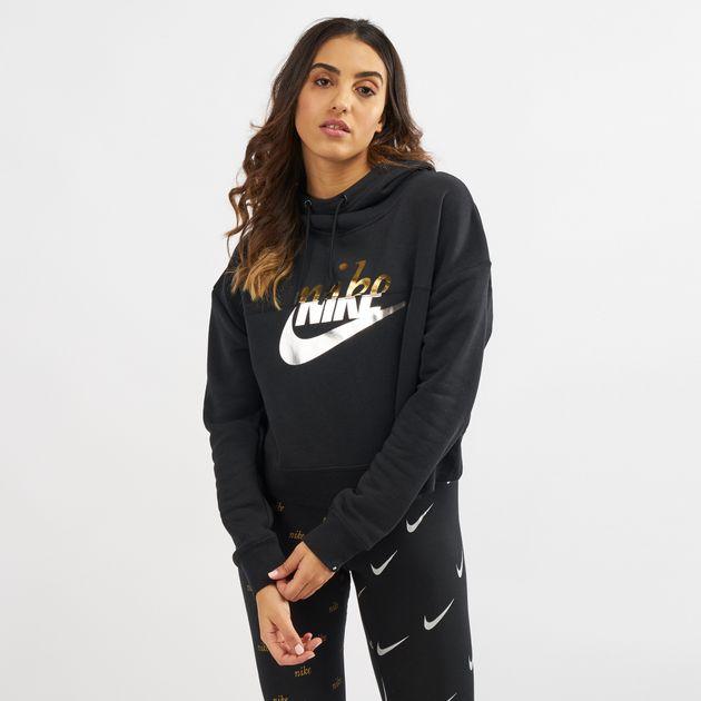 48f5e41084da Nike Sportswear Metallic Rally Hoodie