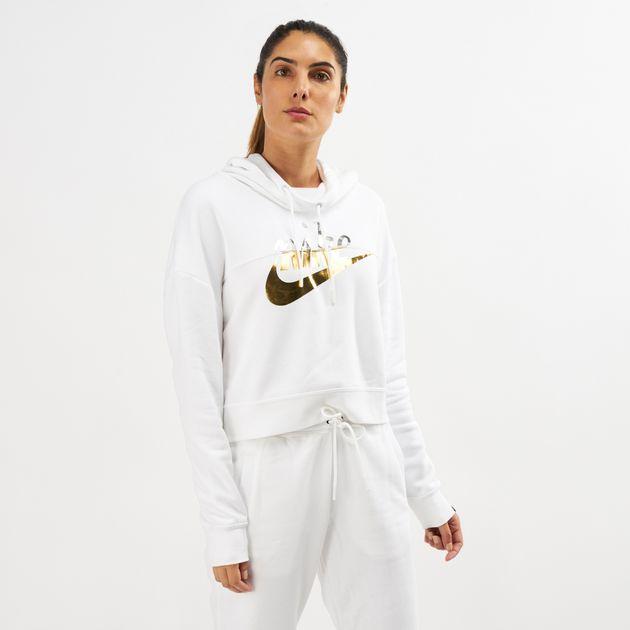 8d294f15e9c3 Nike Sportswear Metallic Rally Hoodie