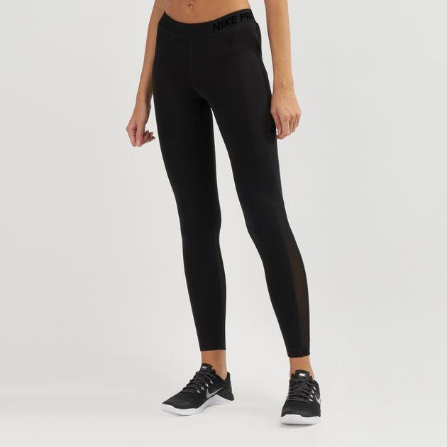 24667d0b8bb746 Nike Pro Woven Pants | Full Length Leggings | Leggings | Clothing ...