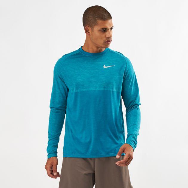 e4e2fca7 Nike Medalist Long Sleeve Running Top   T-Shirts   Tops   Clothing ...