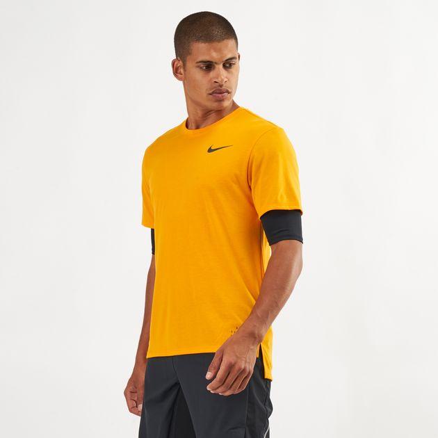 13201c1690e25 Nike Breathe Rise 365 Running T-Shirt