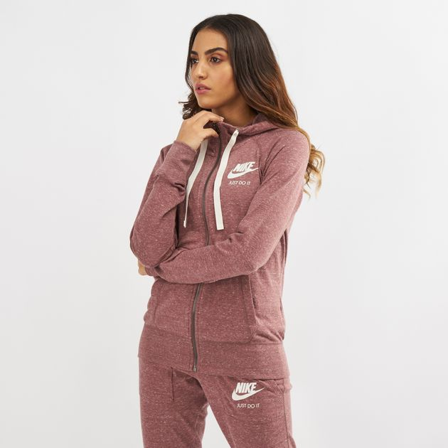be73ac83ab5f Nike Sportswear Gym Vintage Full-Zip Hoodie