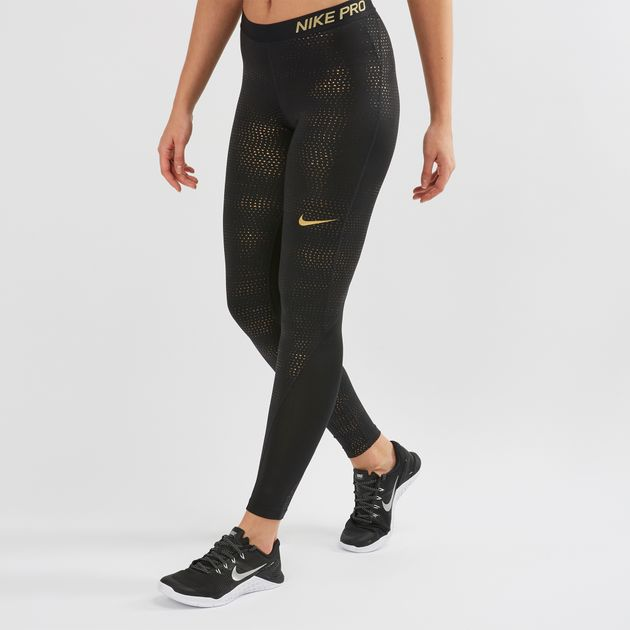 Nike Pro Metallic Dots Print Leggings  07631a423