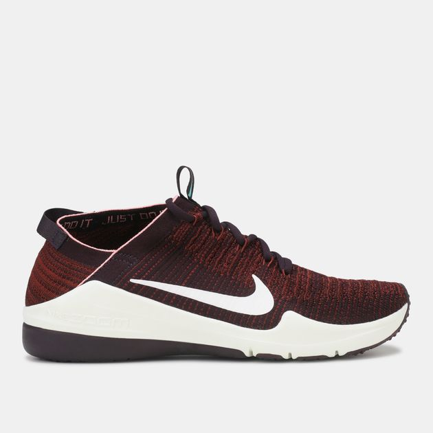 b20998fd9958a9 Shop Red Nike Air Zoom Fearless Flyknit 2 Training Shoe