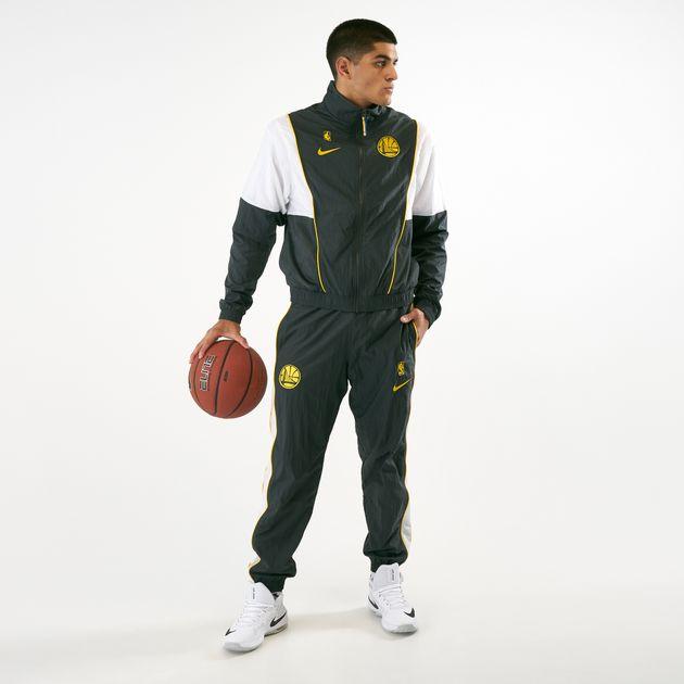 9989e703cf9 Nike Men s NBA Golden State Warriors Courtside Tracksuit ...