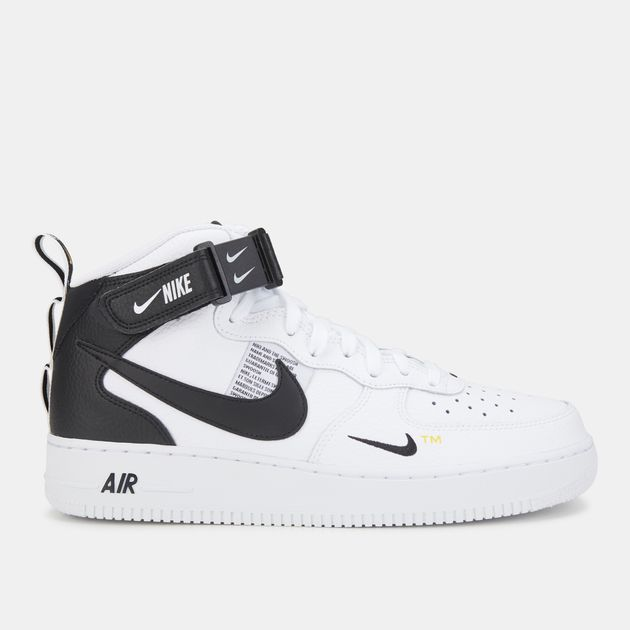 best service e8932 4cd87 Nike Air Force 1 '07 Mid LV8 Shoe   Sneakers   Shoes   Men's ...