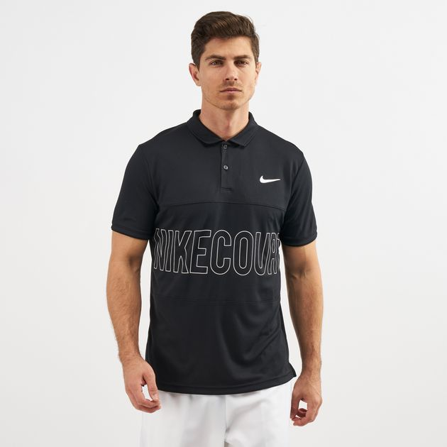 b1b55724 Nike Court Dri-FIT Graphic Tennis Polo T-Shirt | Polo Shirts | Tops ...