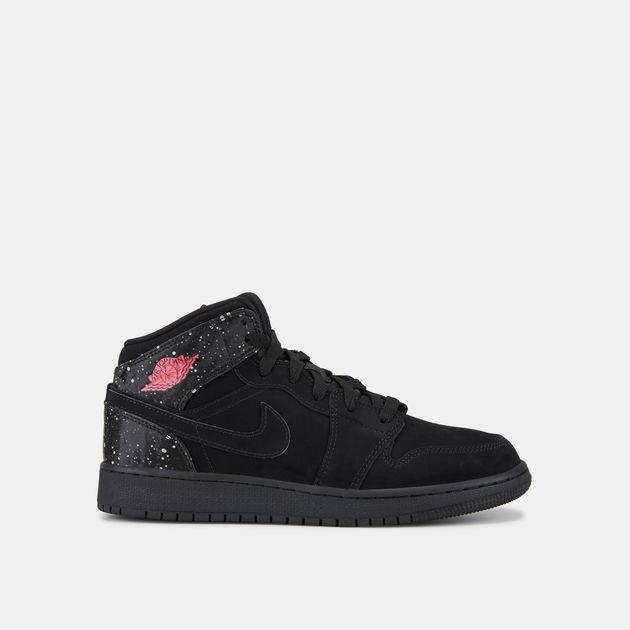 buy online 4b601 86078 Jordan Kids' Air Jordan 1 Mid Shoe (Older Kids) | Basketball ...