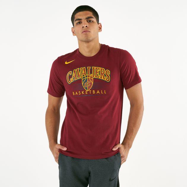 sale retailer 641fe 2db42 Nike Men's Dri-FIT Cleveland Cavaliers Crest T-Shirt