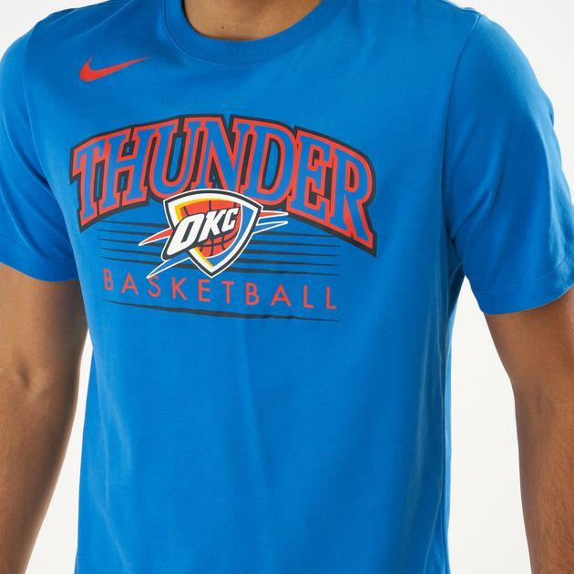 7e76f3c69bc Nike Men's NBA Oklahoma City Thunder T-Shirt | T-Shirts | Tops ...
