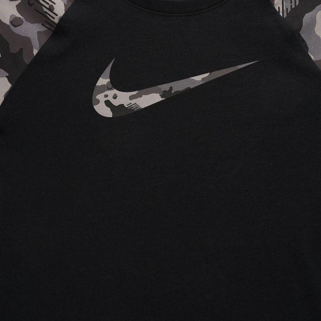 0d47d13dd Nike Kids' Sportswear Camo Raglan T-Shirt (Older Kids) | T-Shirts ...
