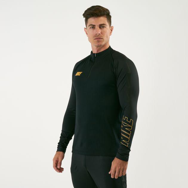 eef3576a Nike Men's Dri-FIT Squad Football Drill T-Shirt | Jackets | Clothing ...