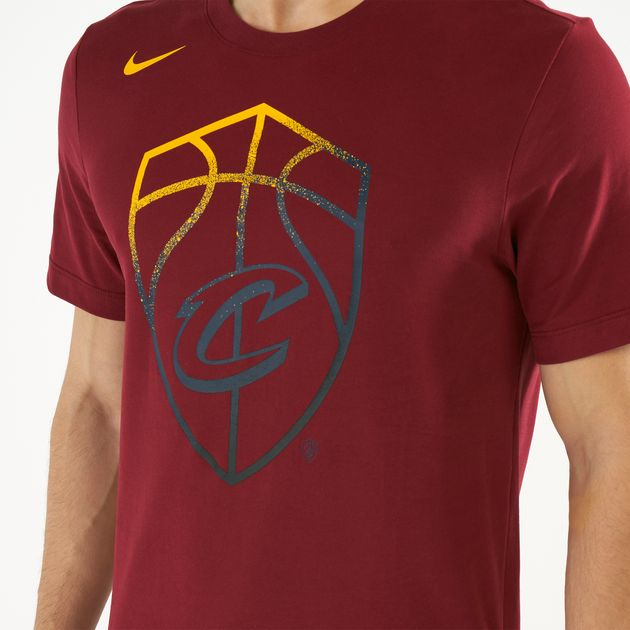 new products b9bd4 a01a7 Nike Men's NBA Cleveland Cavaliers Dri-FIT T-Shirt