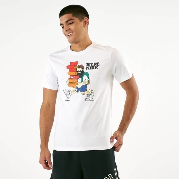 3d9d0e648 Nike Men's Sportswear Hype T-Shirt | T-Shirts | Tops | Clothing ...