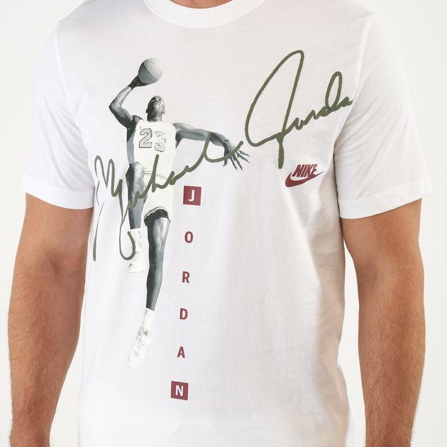 59f6f4ffbf909b Nike Men s Michael Jordan Photo Signature T-Shirt