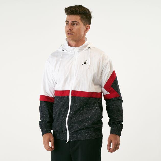 1c6209652dea93 Nike Men s Jordan Diamond Cement Jacket