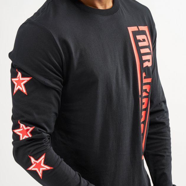 fc4c26487ff Jordan Men's City of Flight Long Sleeve T-Shirt | T-Shirts | Tops ...