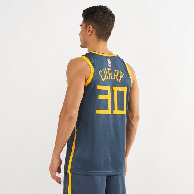 detailed look e94c2 1b7c5 Nike NBA Golden State Warriors Swingman City Edition Jersey ...