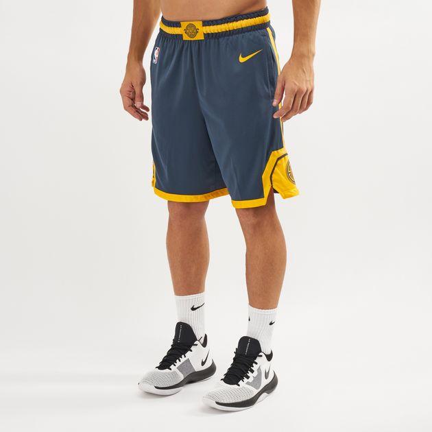 super popular 257ed 370f5 Nike NBA Golden State Warriors Swingman City Edition Shorts ...