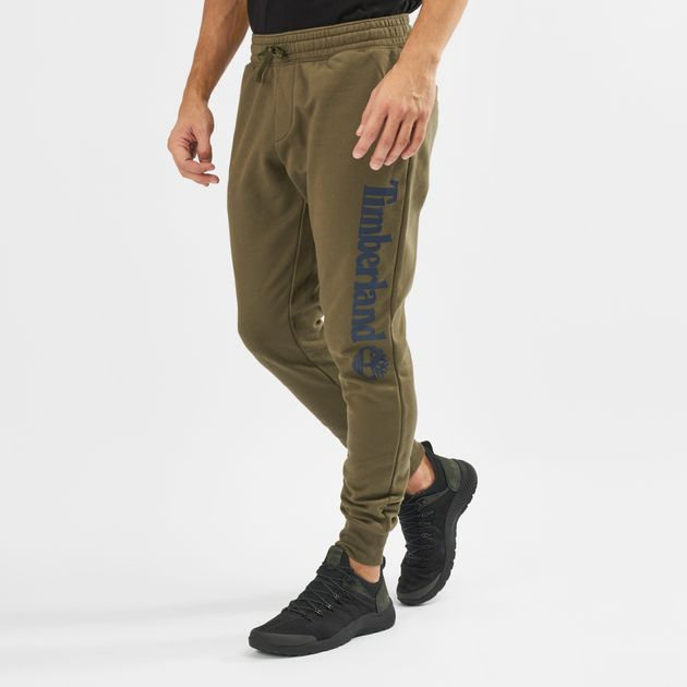 3dab385098f Shop Green Timberland Jogger Sweatpants   Track Pants   Pants ...