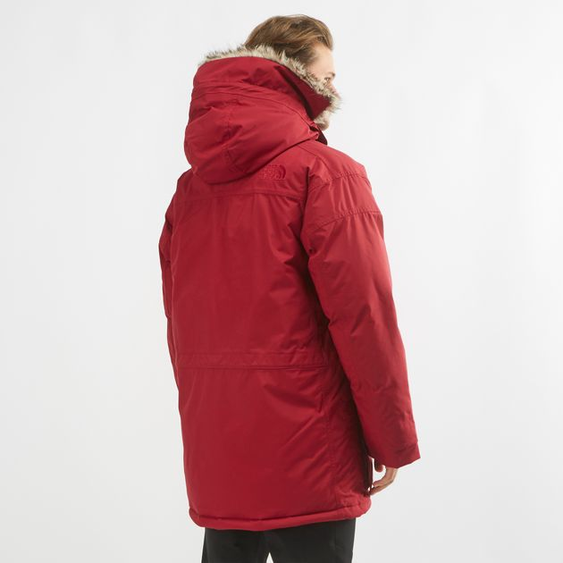 40118fe87 Shop Red The North Face McMurdo Parka | Jackets | Clothing | Mens | SSS