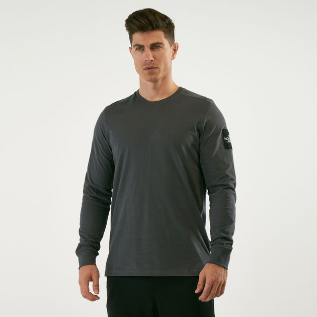 62602f005 The North Face Men's Fine 2 Long Sleeve T-Shirt