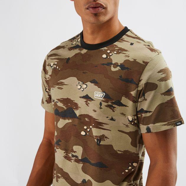d8c5d95919 Vans Desert Camo Ringer T-Shirt
