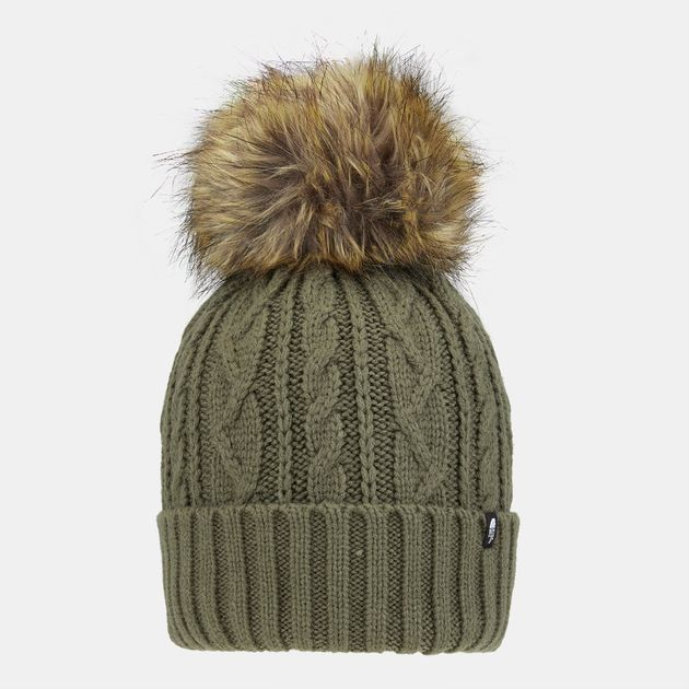 5ce125a39 The North Face Oh-Mega Fur Pom Beanie