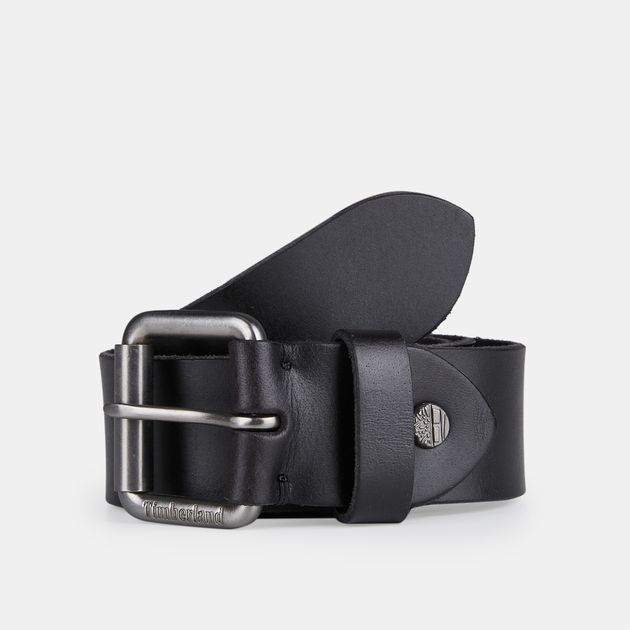 0e5eebcb811 Timberland Roller-Buckle Buffalo Leather Belt | Belts | Accessories ...