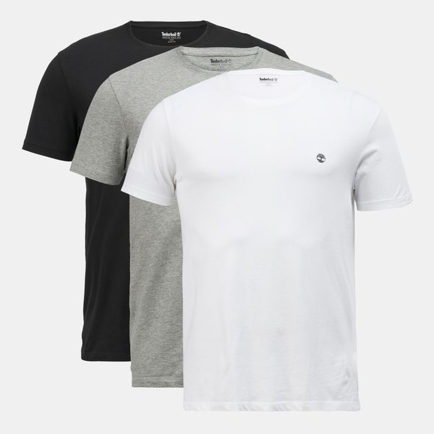 8672a2fcf1a Timberland T-Shirt (3 Pack) | T-Shirts | Tops | Clothing | Men's ...