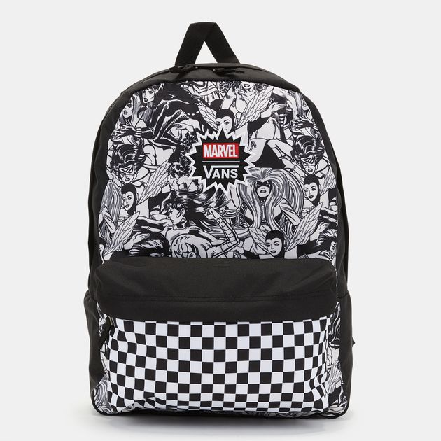 0d0f7969fd2a64 Vans x Marvel Women Realm Backpack - Black