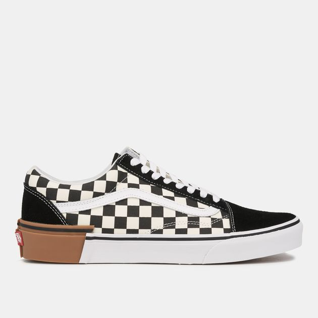 72e9a8452f Vans Gum Block Checkerboard Old Skool Shoe