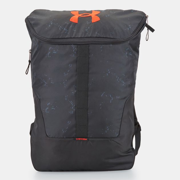 3f5b94d08a Shop Grey Under Armour Expandable Sackpack Bag , Backpacks and ...