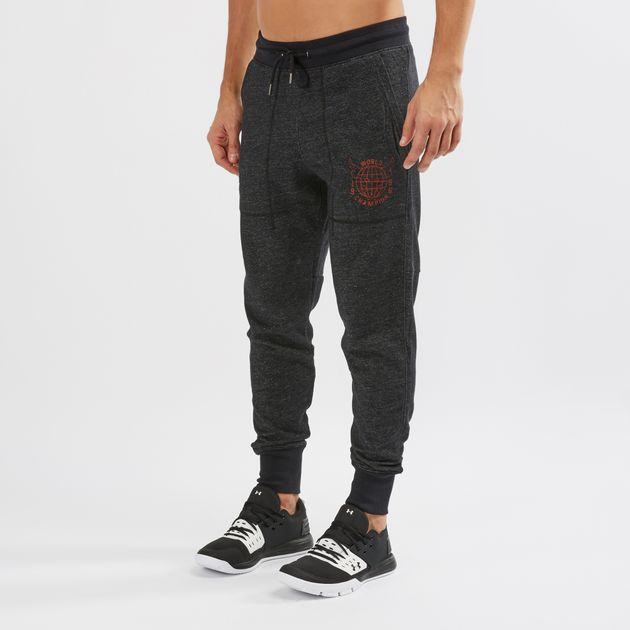 75d2d2e49e3a16 Under Armour Project Rock 96 World Champion Jogger Pants | Track ...