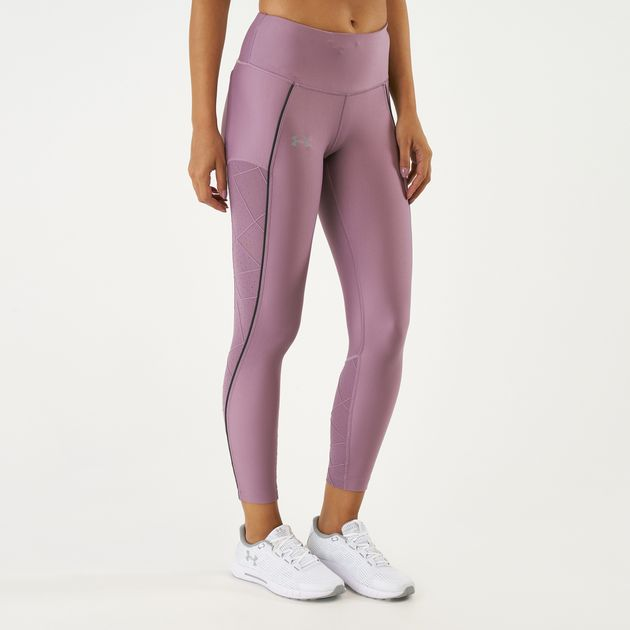 detailed look fa8fa 066da Under Armour Women s Fly Fast Raised Thread Cropped Leggings, 1612935