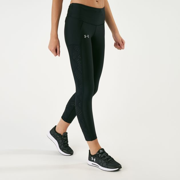 1b56ea47d2124 Under Armour Women's Fly Fast Raised Thread Cropped Leggings | Capri ...