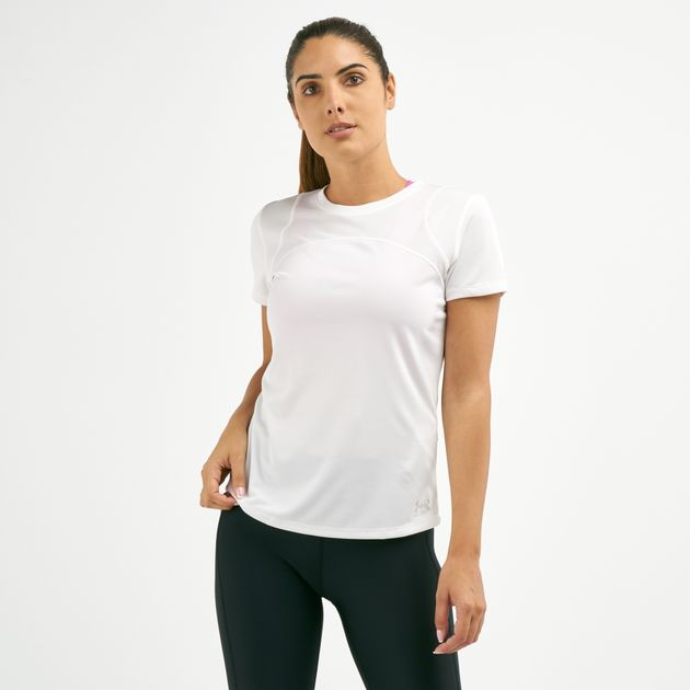 super quality cheapest cozy fresh Under Armour Women's Speed Stride Sport Mesh T-Shirt