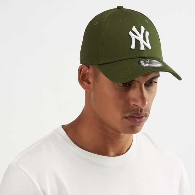 cd0437f647062 New Era MLB New York Yankees League Essential 9FORTY Cap - Green