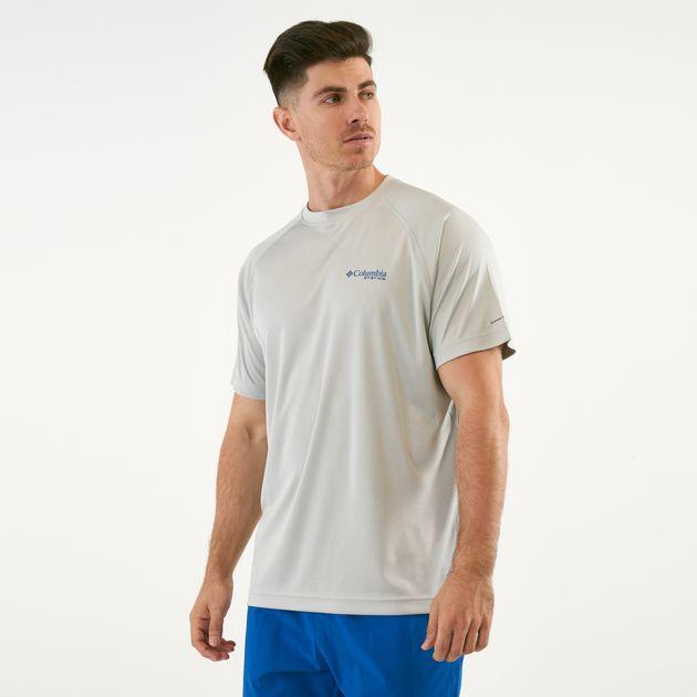 709e3219705 Columbia Men's PFG Terminal Tackle Heather T-Shirt | T-Shirts | Tops ...
