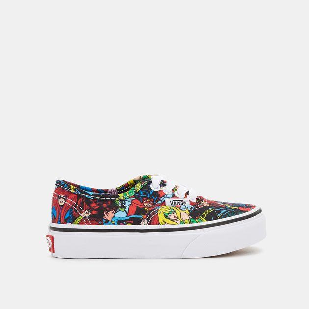 554dc71a74db56 Vans Kids  x Marvel Authentic Shoe