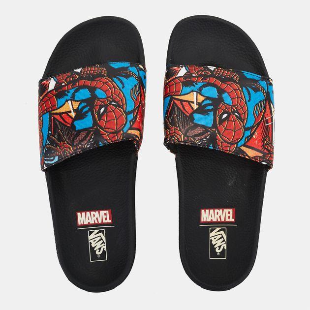 fd383ad6eee Vans x Marvel Slide-On