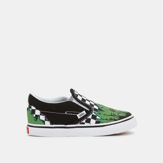 70a5048b88 Vans Kids  x Marvel Classic Slip-On Shoe