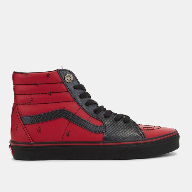 fd87622dab2 Vans x Marvel Sk8-Hi Shoe
