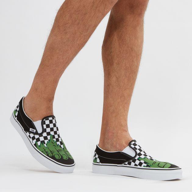 b10cf4a401a169 Vans x Marvel Classic Slip-On Shoe